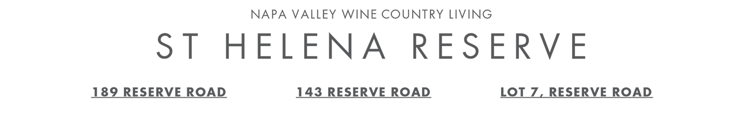new onstruction napa valley homes for sale in st helena, California
